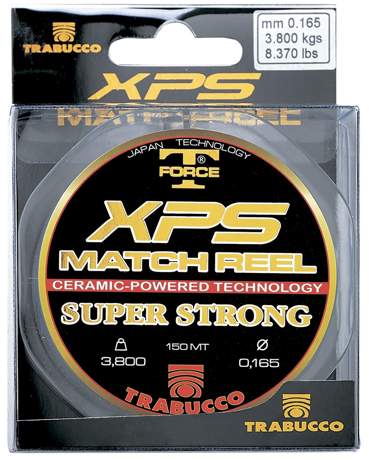 Леска Trabucco T-Force XPS Match Reel 150m 0.30mm/12.07kg серый