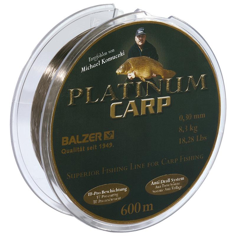 Леска Balzer Platinum Carp 600m 0.30mm/8.30kg коричневый
