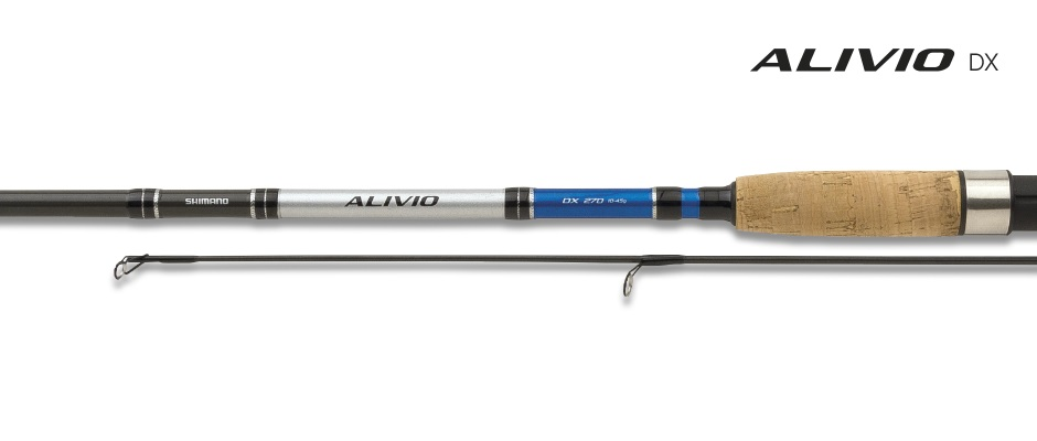 Спиннинг Shimano Alivio DX 2.40UL 2-10гр
