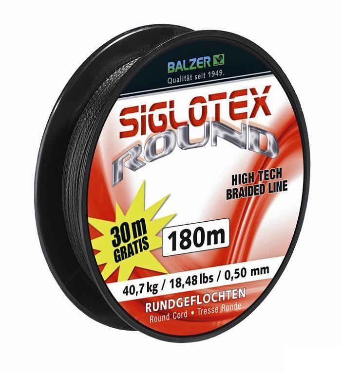 Шнур Balzer Siglotex Round 180m 0.16mm/10.90kg зеленый