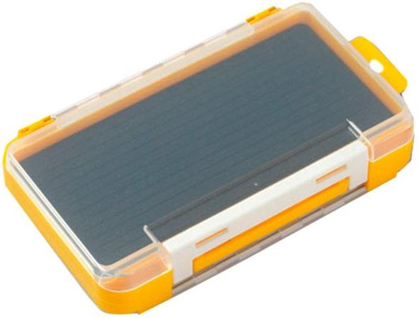 Коробка Meiho RUN GUN CASE 1010W-2 clear/yellow
