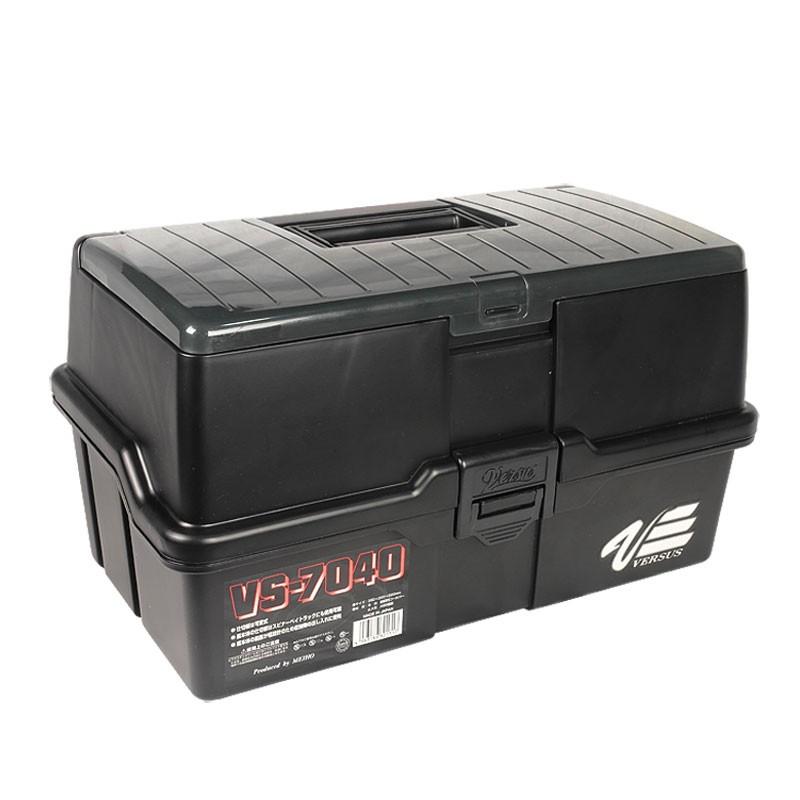 Ящик трехполочный Meiho VS-7040 черный