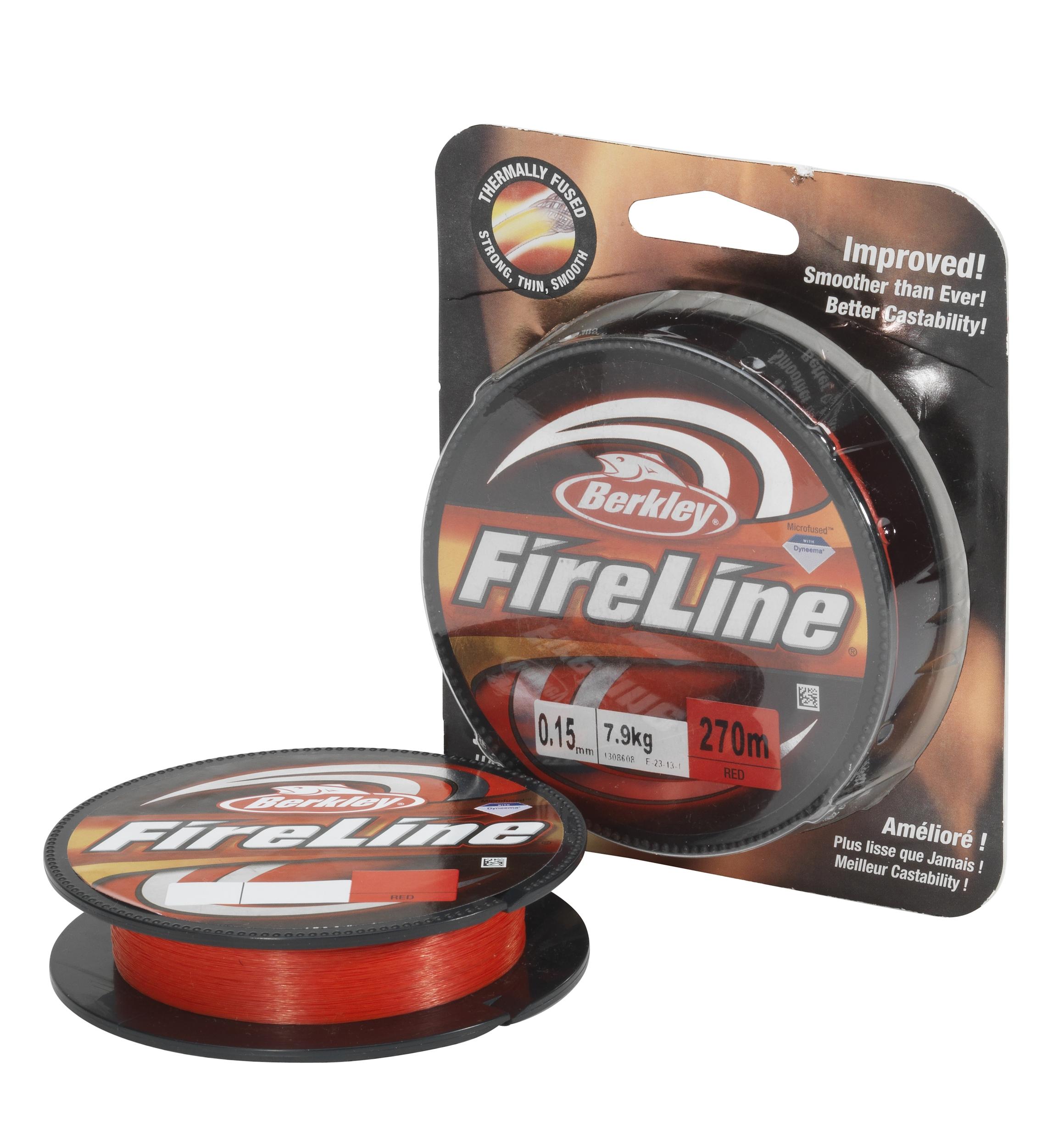 Шнур Berkley FireLine EFLNFS15-RD красный  110m 0.15mm 7.9kg