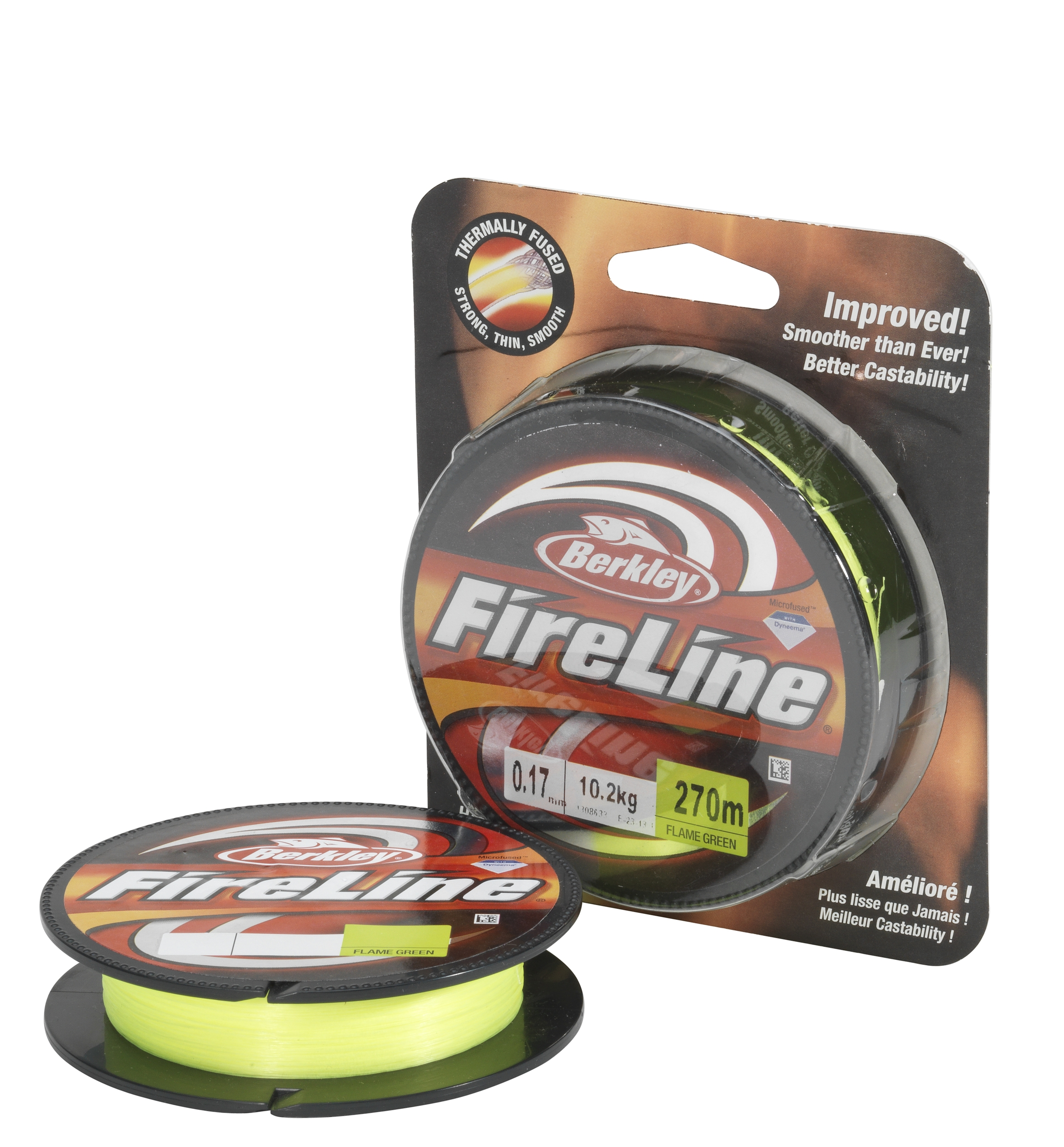 Шнур Berkley FireLine Flame Green EFLNFS10-GG зеленый  110m 0.10mm 5.9kg
