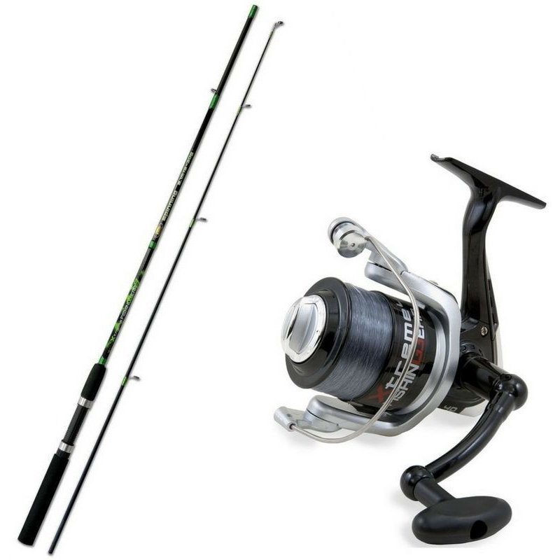 Комплект спиннинговый Lineaeffe Combo Extreme Fishing Spinning
