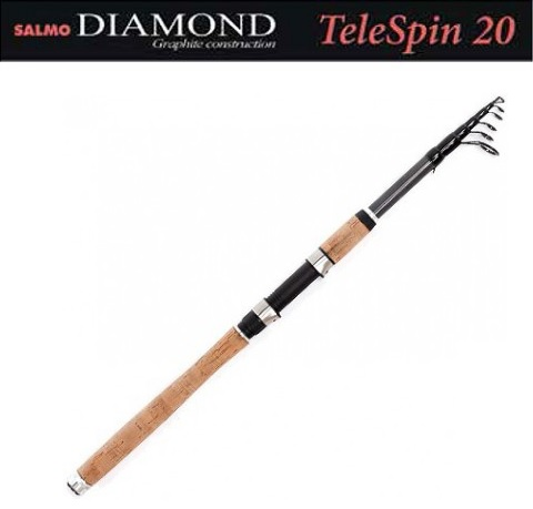 Спиннинг Salmo Diamond Telespin 20 2.40