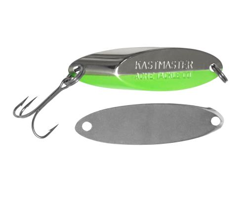 Блесна Acme Kastmaster 7г Chrome Chartreuse Stripe