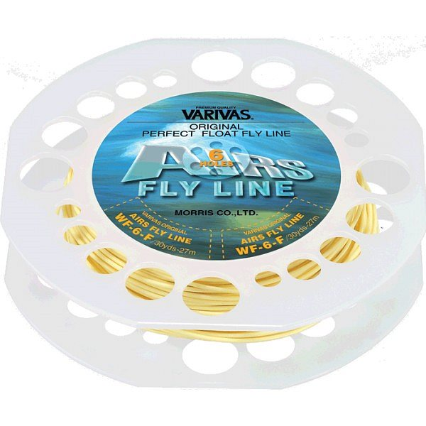 Шнур нахлыстовый Varivas Airs Fly Line 54064-DT4F песочный
