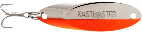 Блесна Acme Kastmaster 14г Chrome Fluorescent Orange Stripe