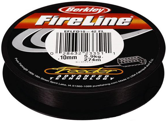 Шнур Berkley FireLine Feeder  0.06mm