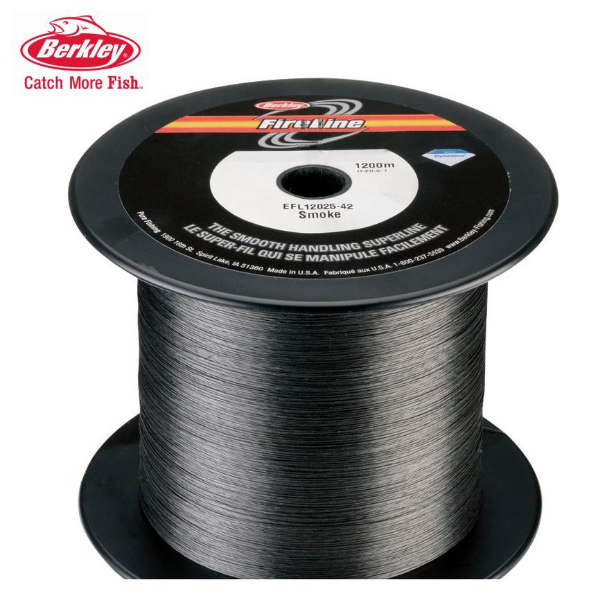 Шнур Berkley FireLine серый 0,12mm