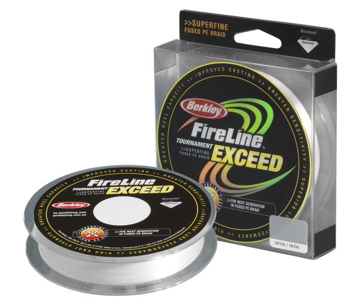 Шнур Berkley FireLine Tournament Exceed Crystal  0.15mm
