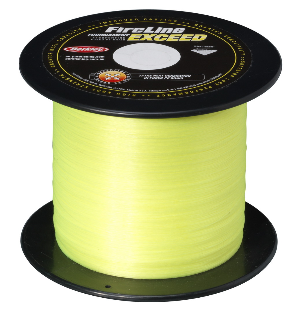 Шнур Berkley FireLine Tournament Exceed Flame Green 1800m 0,12mm