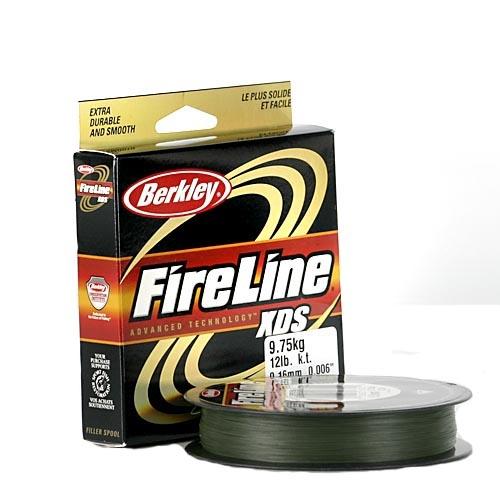 Шнур Berkley FireLine XDS серо-зеленый  137m 0.19mm 12.83kg