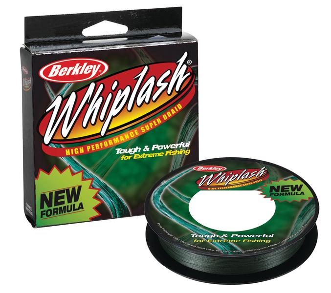 Шнур Berkley Whiplash Pro зеленый  110m 0.17mm 21.70kg