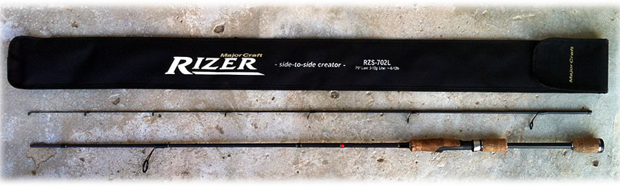 Спиннинг Major Craft Rizer RZS-802M 6-24гр.