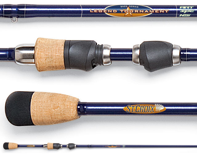 Спиннинг St.Croix Legend Tournament Bass LTBS68MXF