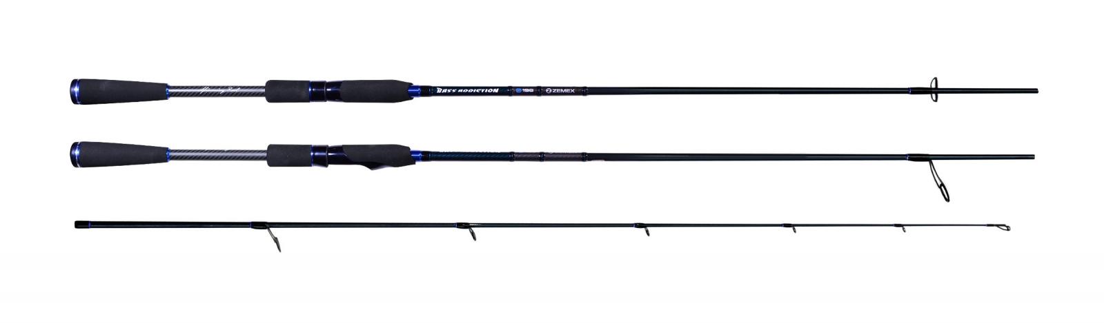 Спиннинг Zemex Bass Addiction S-752M NEW 2015 2,25 м. 7,0-25,0 гр.