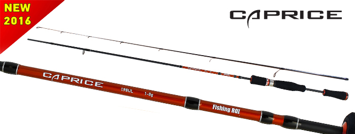 Спиннинг Fishing Roi Caprice 1.98м 1-8гр
