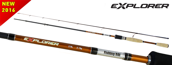 Спиннинг Fishing Roi Explorer 2.10м  2-15гр