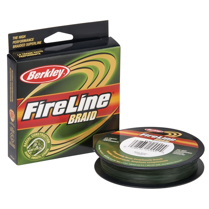 Шнур Berkley FireLine Braid Tracer green  110m 0.20mm 19.5kg