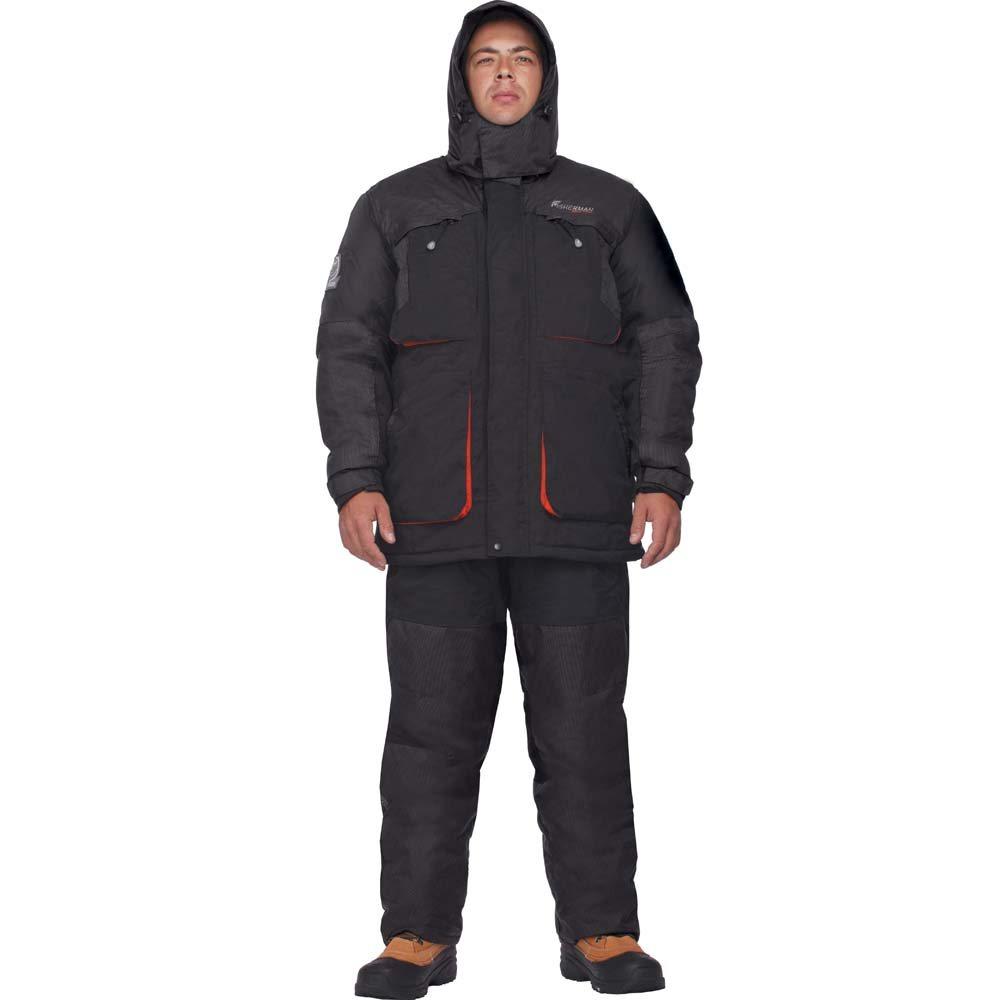 Теплый костюм для рыбалки Nova Tour Драйв -35 Черный