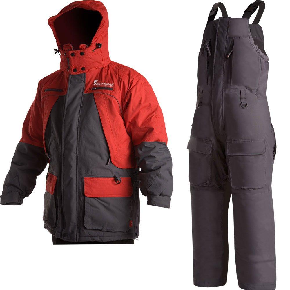 Рыболовный костюм Nova Tour Фишермен v.2 Серый/красный