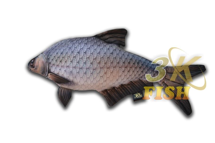 Сувенир мягкий 3KFish Лещ большой 600х300мм