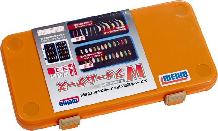 Коробка Meiho W FORM CASE yellow/orange
