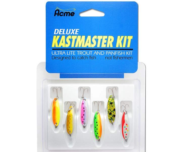 Набор блесен Acme Kastmaster 3.5г 6шт
