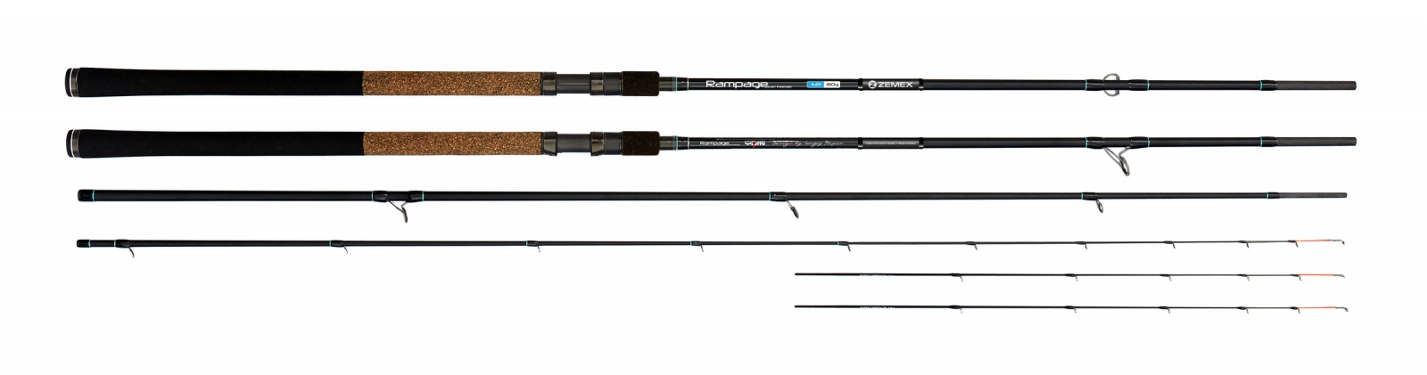 Фидер Zemex Rampage River Feeder 14ft 180g RRF-420-180