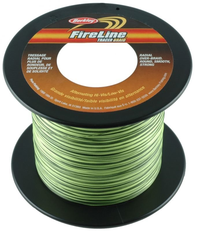 Шнур Berkley FireLine Braid Tracer Yellow/Black 1800m 0.20mm 19.5 kg