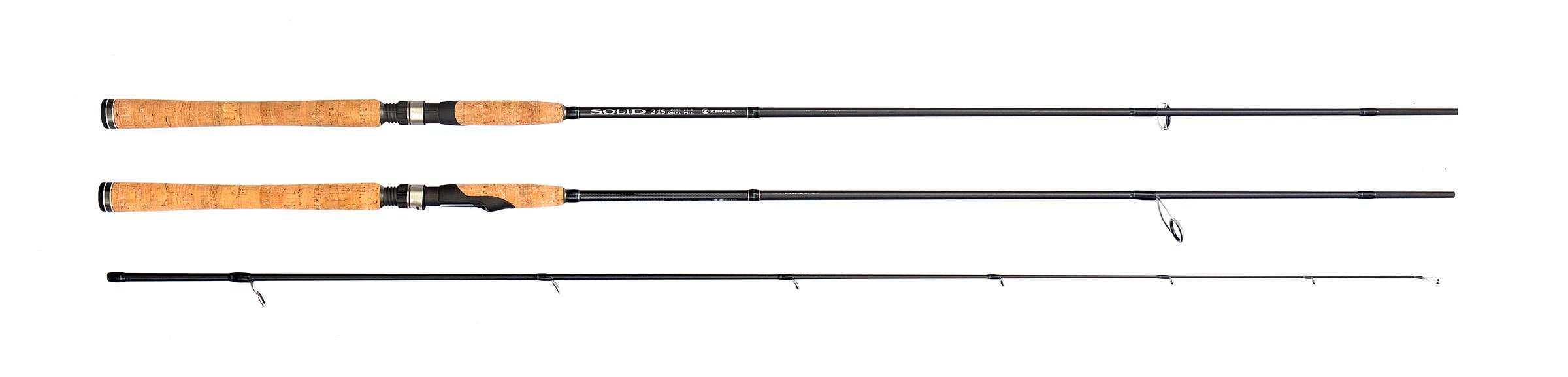 Спиннинг Zemex Solid 2,25м 3-12гр