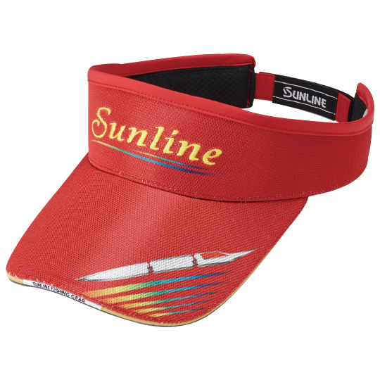 Кепка Sunline SUN VISOR CP-3713 Red